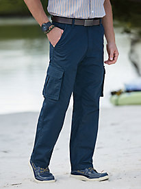 Haband Travelers� Rip-Stop Cargo Pants