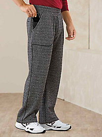 Active Joe® Heathered Athletic Pants