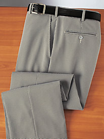 No-Wrinkle Business Slacks
