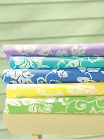 Hibiscus Sheet Set