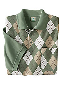 Argyle Golf Shirt