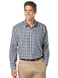 Yarn-Dyed Plaid Shirt