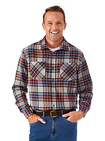 Soft-Brushed Flannel Shirt
