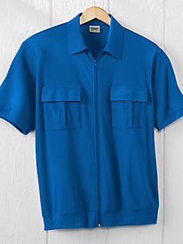 Duke Zip-Front Shirt