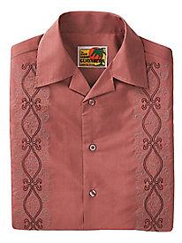 Embroidered Guayabera Shirt