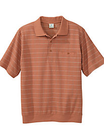 Windowpane Small Golf Shirt