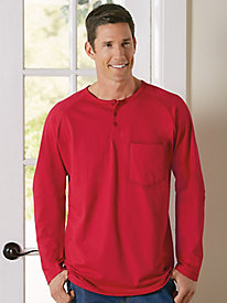 Perfect Fit Henley Shirt