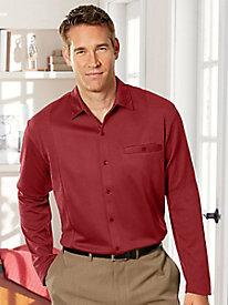 Botany 500� Wrinkle-Free Knit Shirt