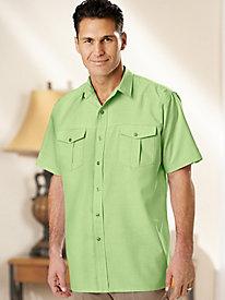 Gold Coast� Linen-Look Shirt