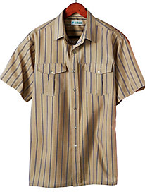 Gold Coast� Linen-Look Shirt