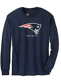 Official NFL Team Logo Long-Sleeve Tee