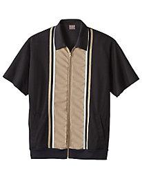 Comfort Casual Dual Texture Shirt