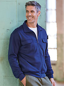 Casual Joe� Full-Zip Fleece Shirt