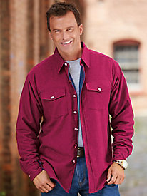 Ice House� Fleece-Lined Flannel Shirt