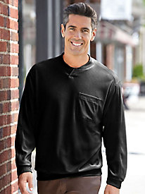 Magic Touch Long-Sleeve Velour Shirt