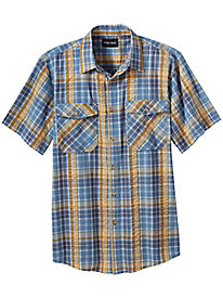Stone Creek™ Plaid Seersucker Shirt