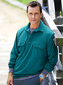 Stone Creek™ High Point Rib-Knit Polo