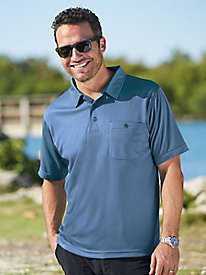 InstaDry™ Textured Golf Shirts