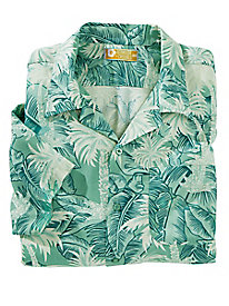 Bermuda Casuals Hawaiian Luau Camp Shirt