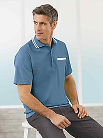 Casual Joe� Tipped Polo