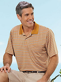 InstaDry™ Brook Stripe Polo
