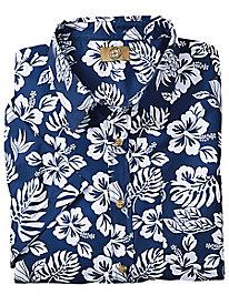 Bold Hibiscus Hawaiian Shirt