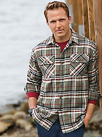 Stone Creek™ Brawny Flannel Shirt