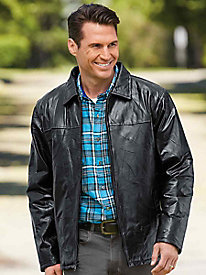 Year 'Round Leather Jacket