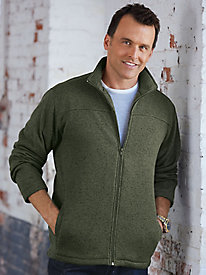 Stone Creek� Sweater Fleece Jacket