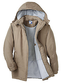 Artic Bear Fleece-Lined Parka