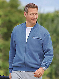 Active Joe® Fleece Baseball Jacket