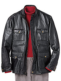 Executive Division� Leather Jacket