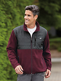New Balance� Rip-Stop Polar Fleece Jacket