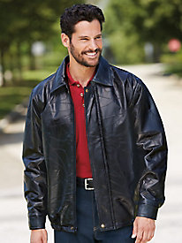 Duke� Leather Bomber