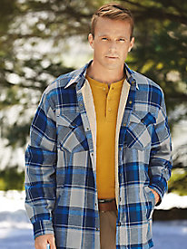 Stone Creek� Sherpa-Lined Shirt Jacket