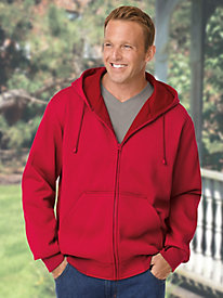 Casual Joe� Thermal-Lined Fleece Jacket