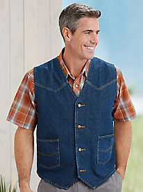 Duke Denim Vest