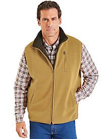 Duke Sherpa Lined Fleece Vest