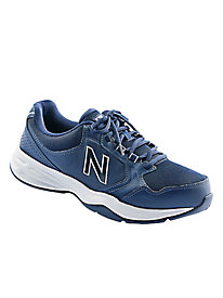New Balance� Leather Sneakers with Laces