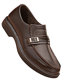 Soft Stags� Dress Leather Slip-Ons