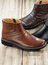 Haband Mens Velcro Slip On Shoes