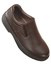 Deer Stags® Non-Slip Leather Casual Slip-Ons