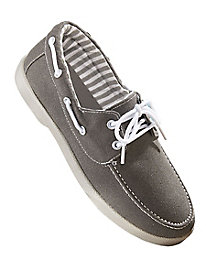 Casual Joe� Lace-Up Canvas Casuals