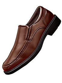 Soft Stags� Leather Loafers