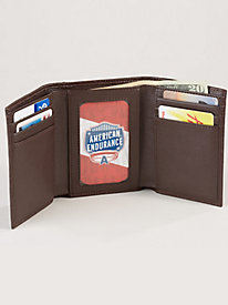 American Endurance Leather Wallet