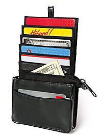 Buxton� RFID-Blocking Wallet with Pull-Out Section