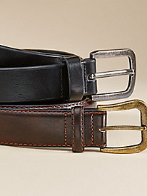 Leather Work Belts -Set of 2