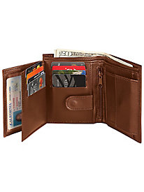 TheftShield™ Leather Wallet