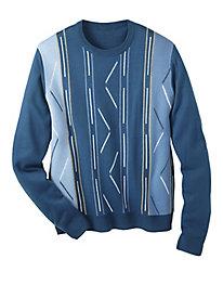 Botany 500� Jacquard Sweater