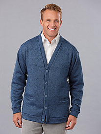 Sweater Fleece Cardigan